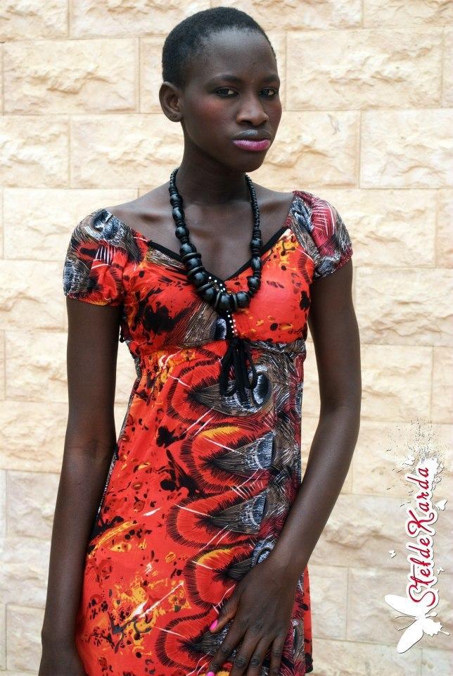 Voici le mannequin sénégalais Feuza Diouf