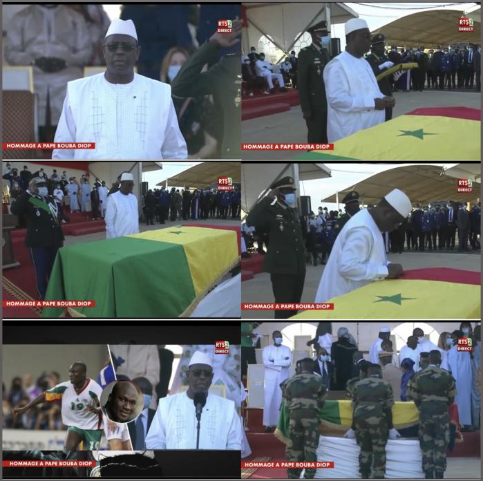 Dignité de Grand Officier de l'Ordre National du Lion : Pape Bouba Diop décoré à titre posthume par le président Macky Sall, le Musée du football baptisé à son nom....