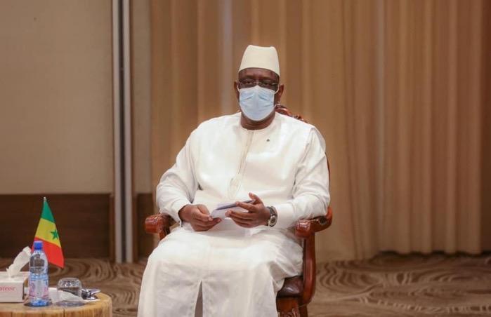Condoléances :  Le President Sall chez Pape Abdoulaye Seck et Ousmane Ngom.