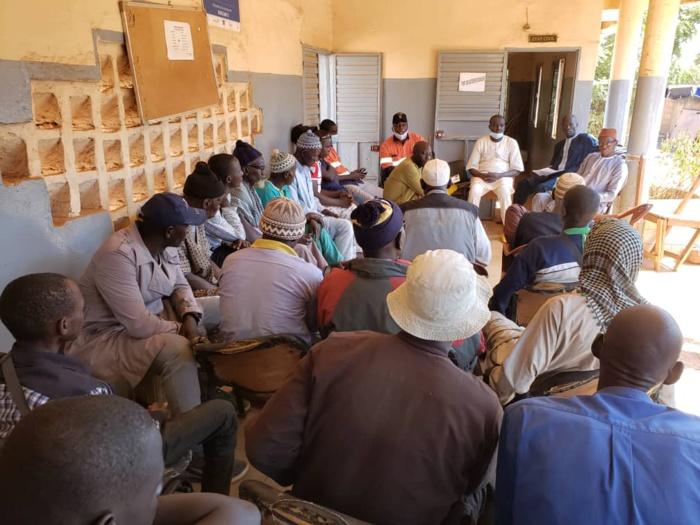 Khossanto/Rentrée scolaire 2021: le Conseil Municipal et la SGO injectent 7 millions.