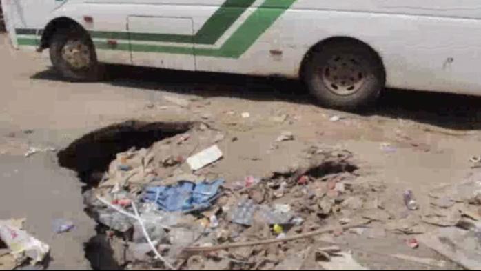 Commune de Kaolack : L'État démarre les travaux de réhabilitation des axes routiers.