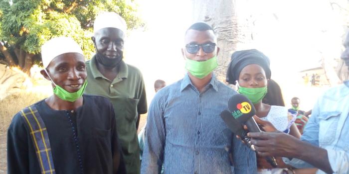 Médina El Hadj : Le mouvement Kolda debout arrache Kabirou Diao,  responsable du Pastef les patriotes d'Ousmane Sonko.