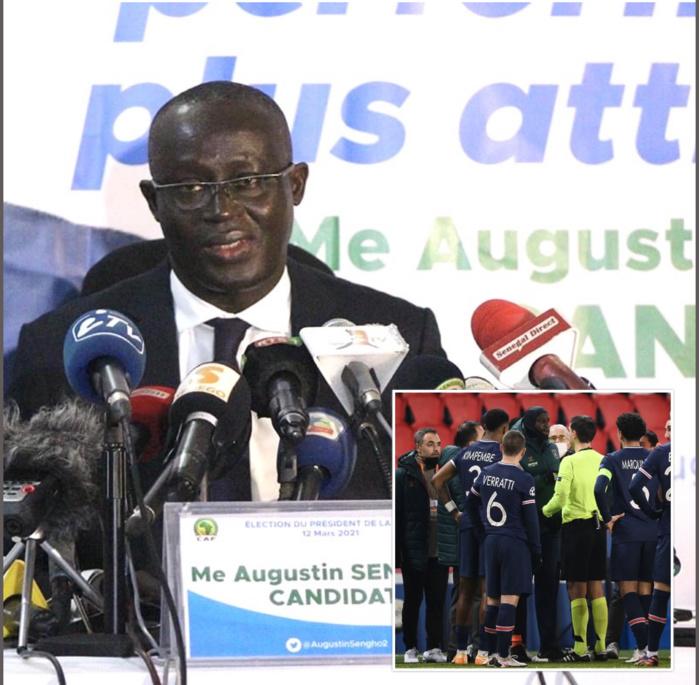 Me Augustin Senghor (Président Fsf) : «Le Racisme battu pour la première fois sur un terrain de Football !»