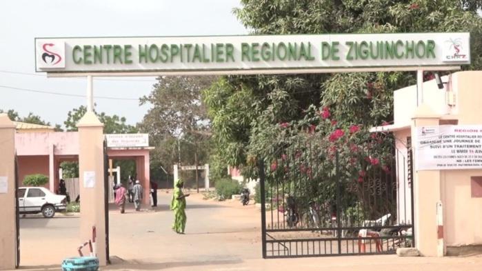 Sit-in à l'hôpital régional de Ziguinchor : La section Sutsas menace d'aller en grève pour non-paiement de leurs salaires.