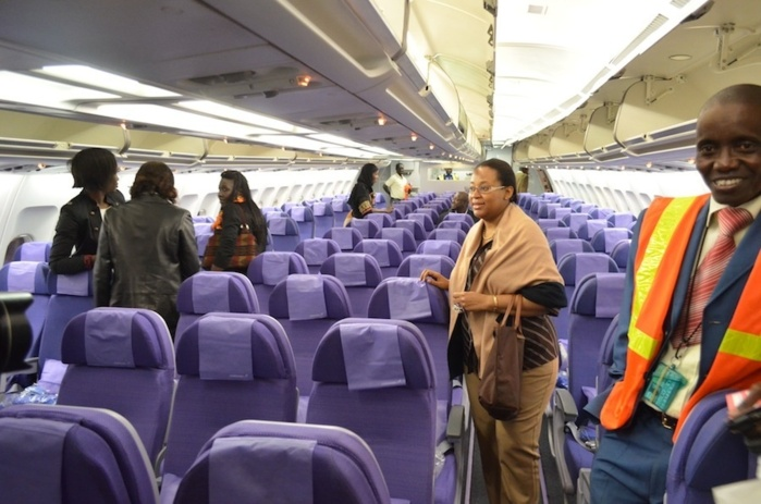 Visite guid e de l 39 a330 300 de corsair international for Interieur 747 corsair
