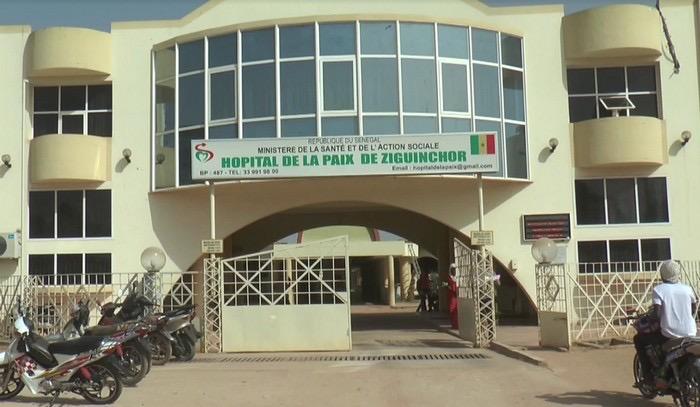 Ziguinchor : L'Hôpital de la Paix dépourvu de médecins urgentistes, fait face à des eaux usées au laboratoire et à la pédiatrie.