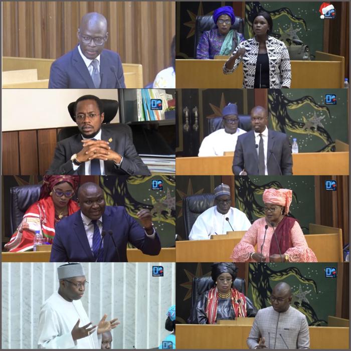 Espace parlementaire : Ces députés qui donnent du 'fil à retordre' aux ministres de la République.