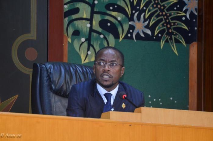CLÔTURE DE LA SESSION BUDGETAIRE : Discours du président Abdou Mbow, Premier Vice-président de l'Assemblée nationale.