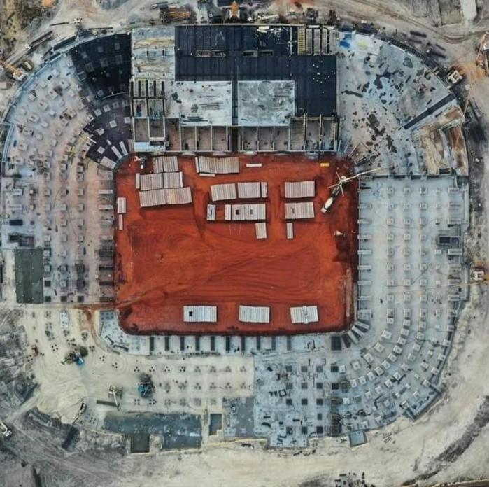 Infrastructures sportives : Focus sur les travaux de construction du stade du Sénégal (Photos)