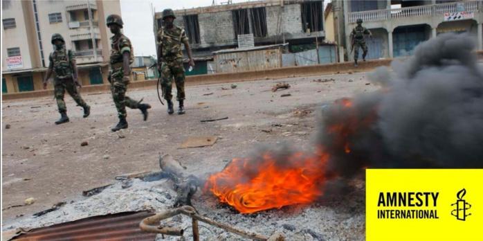 Prestation de serment d'Alpha Condé aujourd'hui : Amnesty « ressuscite » les victimes du régime Condé, dont un homme 62 ans torturé à mort