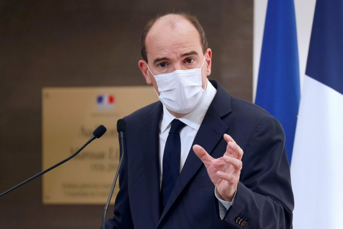 France : Contact du président, le Premier ministre Jean Castex à l'isolement.