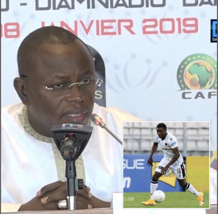 Blessure de Moussa Wagué : L'État «au chevet» de l'international sénégalais...