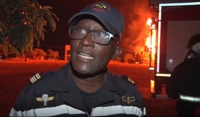 Explosion d'un puits de gaz à Ngadiaga / « On rassure la population que les flammes sont contenues et le danger écarté » (Colonel Sapeur-pompiers)