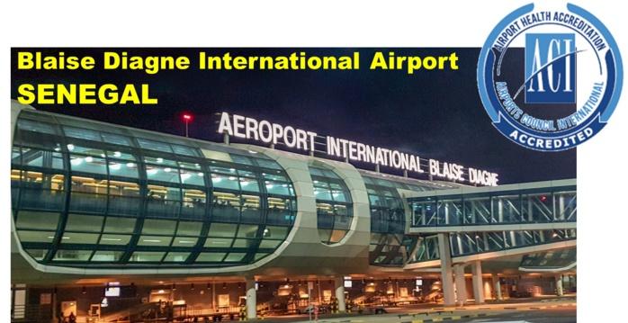 Diass : L'AIBD certifié « Airport Health Accreditation »