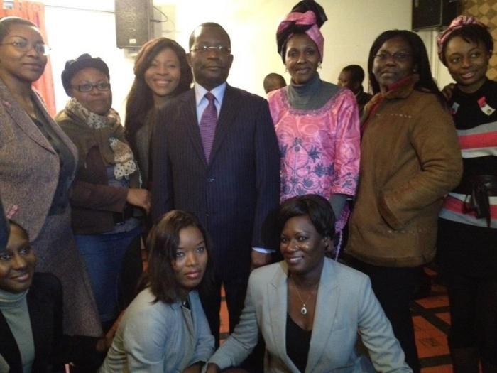 Un pot organisé samedi denier à Bruxelles : La diaspora de Belgique a rendu hommage à l'ambassadeur Paul Badji