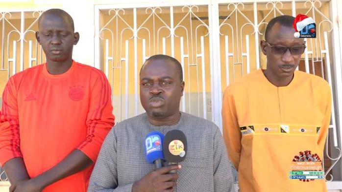 SPORTS À MBACKÉ / Mouhamadou Badiane répond à l'appel des sportifs et fait la promotion de l'esprit d'équipe.
