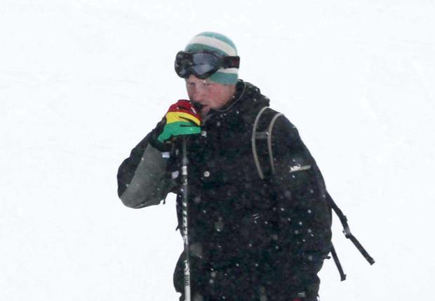 Prince Harry : Vacances en amoureux en Suisse