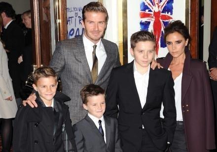 """David Beckham : """"Je veux d'autres enfants"""""""