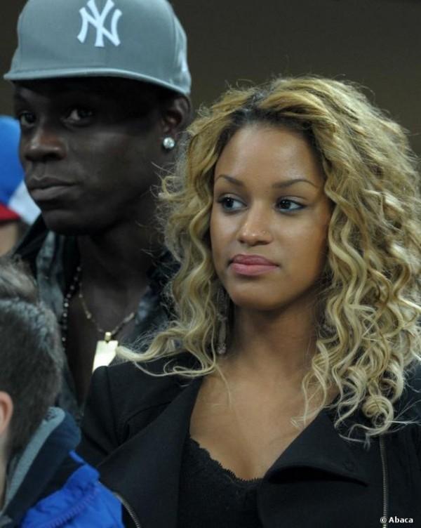 Mario Balotelli se la coule douce avec sa nouvelle compagne Fanny Robert Neguesha (photos)