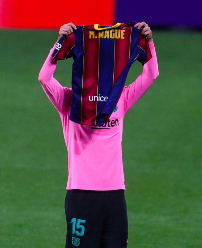 FC Barcelone : L'hommage de Clément Lenglet qui dédie son but à Moussa Wagué...