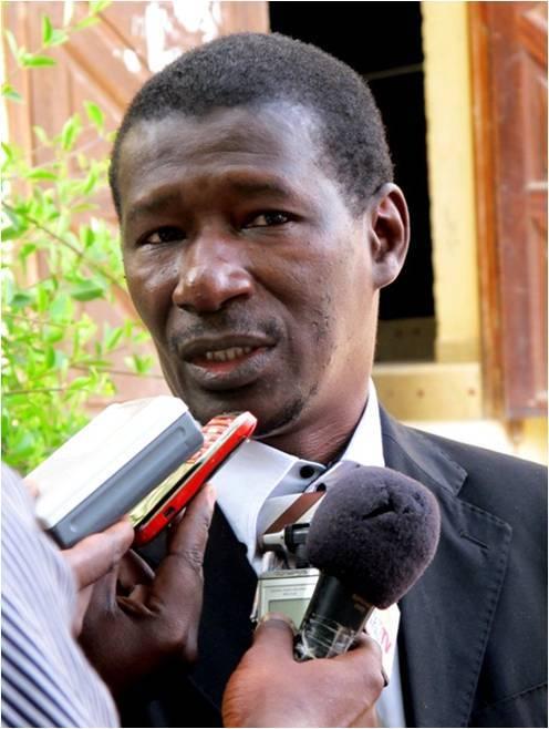 Mary Teuw Niane et Abdou Latif Coulibaly en conférence de presse, vendredi