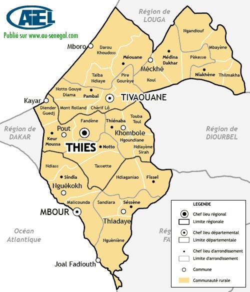 La Région de Thiès : « Caa Kaw / Caa Kanam »