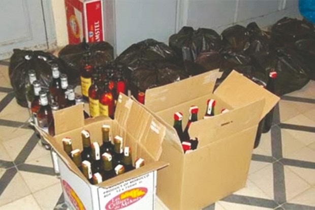 Lutte contre la fraude et la contrebande : Du vin et de l'huile saisis au Port de Dakar.