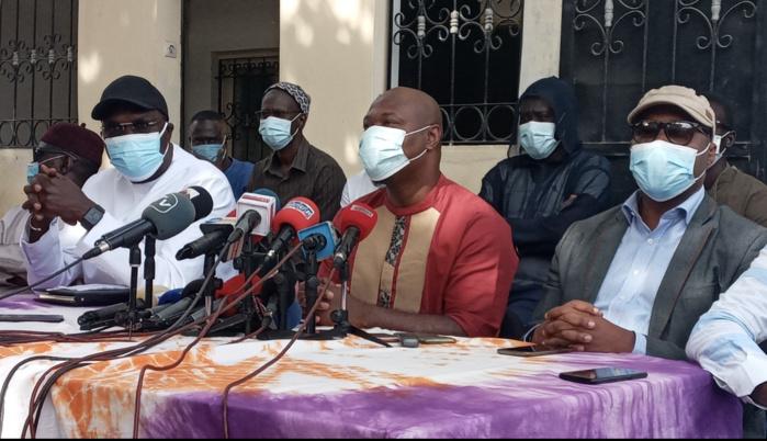 Point de presse conjoint : Guy Marius  Sagna déconfine Khalifa Sall.