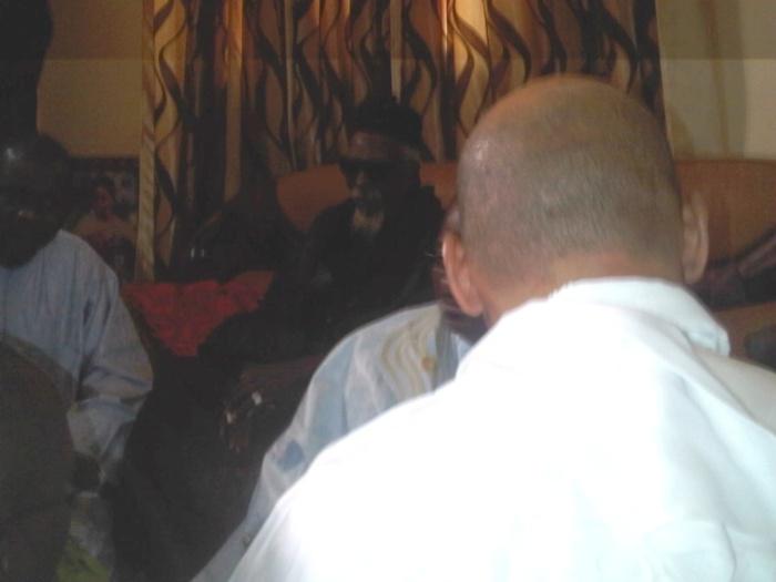 Suite à la décision de la Cour de justice de la CEDEAO, Karim WADE, Madické NIANG et Samuel SARR chez le Khalife de Touba  (PHOTOS)