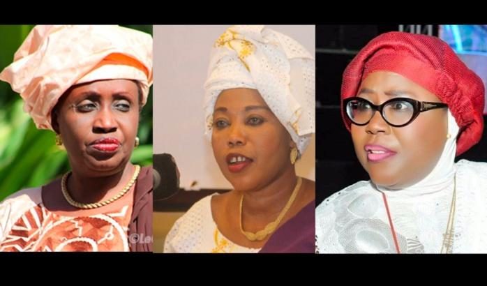 Me Nafissatou Diop Cissé, Awa Guèye, Adji Mergane Kanouté