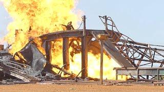 Explosion du puits de gaz à Ngadiaga : L'ingénieur américain Henry Gunning (71 ans) succombe à ses brûlures au 3ème degré, une semaine après le drame.