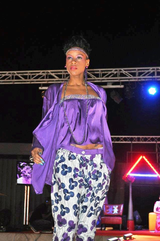 Dyana Seck au Fashion Show de Dakar
