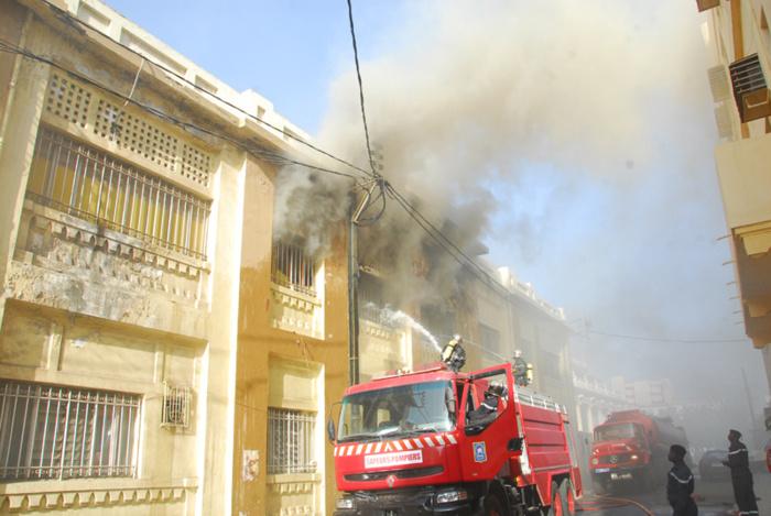 Incendie au Commissariat central de Dakar: Des prévenus déplacés dans d'autres commissariats