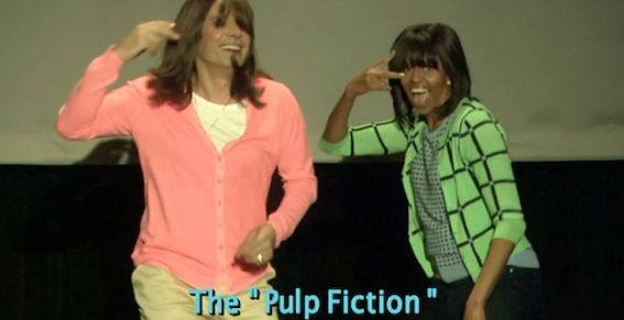 Quand Michelle Obama lutte contre l'obésité en musique