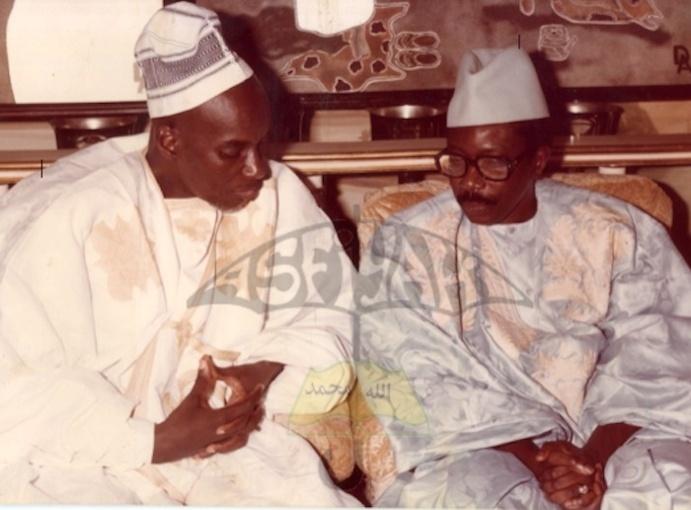 PHOTOS : Visite de Courtoisie de Serigne Cheikh Tidiane Sy Al Maktoum à Serigne Abdou Lahat Mbacké lors de sa venue à Dakar