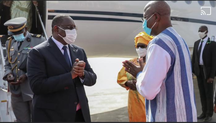 Investiture de Roch Kaboré : Le président Macky Sall à Ouagadougou.