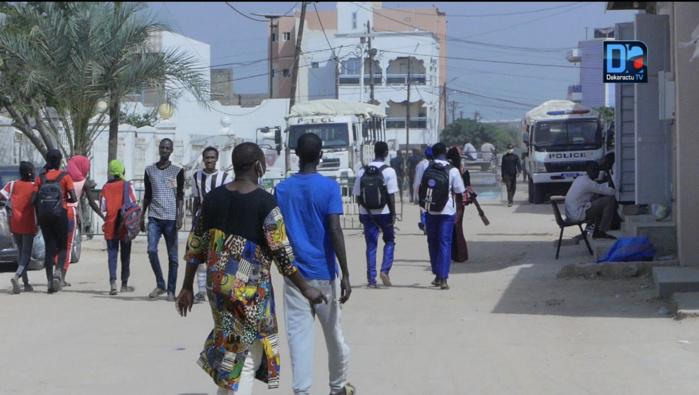 Cérémonie d'inhumation à Médina Baye : Tout est fin prêt... La police déploie un dispositif sécuritaire de 300 éléments.