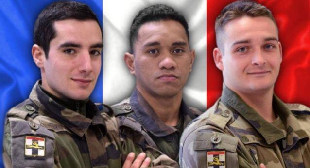 Mali : Trois soldats français tués dans le centre du pays.