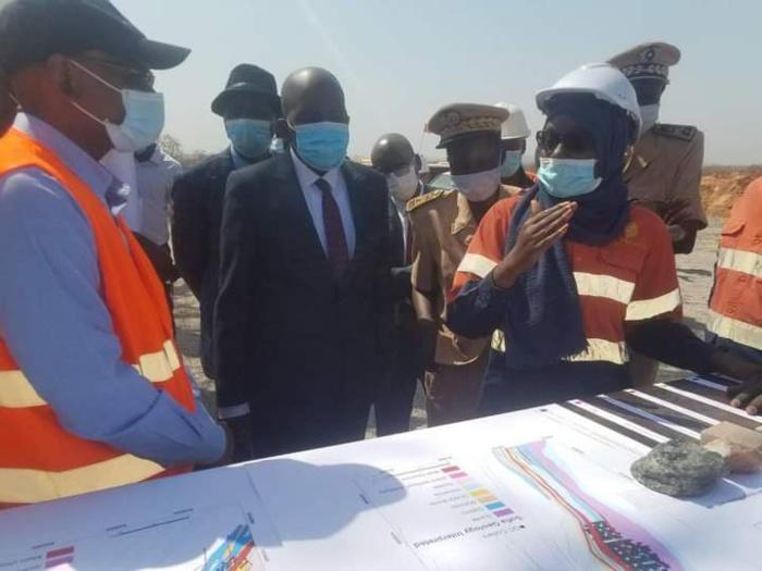 Sabodala / Visite de Oumar Sarr :«Le premier souci de SGO c'est les populations, ensuite les bénéfices qui seront partagés» (Abdoul Sy, DG/SGO)