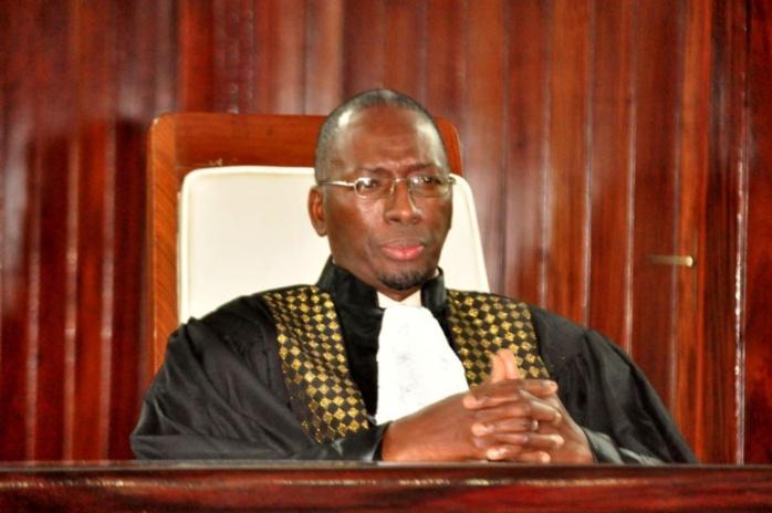Les images de la cérémonie de l'installation du nouveau Président de la Cour des Comptes Mamadou Hady Sarr