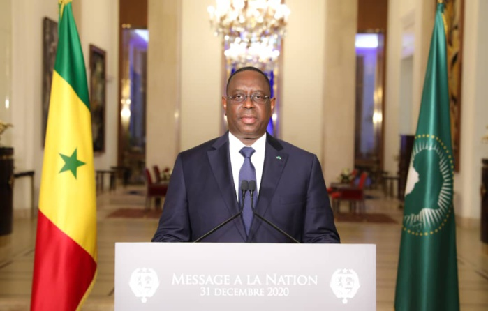 NOUVEL AN : L'intégralité du message à la Nation du Président de la République Macky Sall.