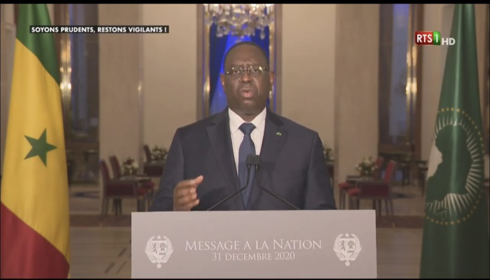 Discours à la nation : Macky Sall défend la pertinence du dialogue national.