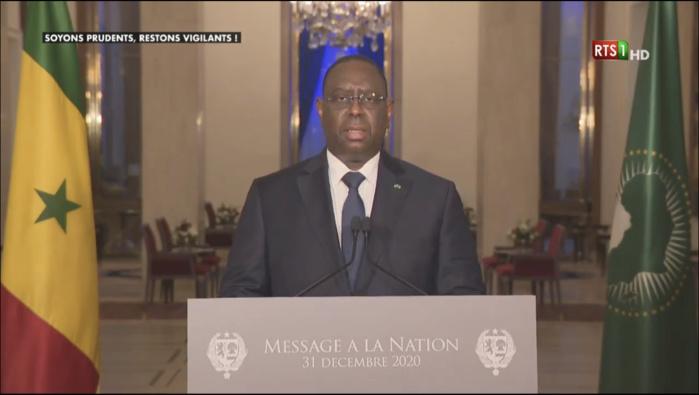 Adresse à la nation : Le Président Macky Sall décline le PAVIE d'un montant de 74 milliards pour l'employabilité des jeunes..