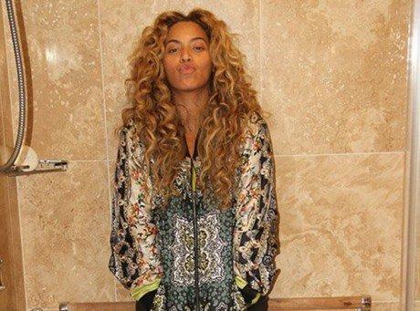 Beyonce : elle dévoile une photo intime sous la douche !