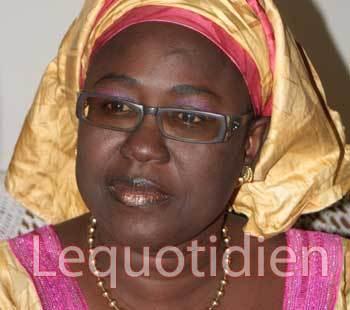 Adji Mergane Kanouté, coordonnatrice des femmes de Bby : A hue et Adji !