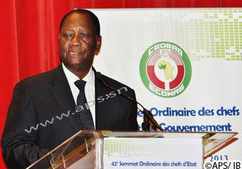 Alassane Ouattara reconduit à la présidence de la CEDEAO