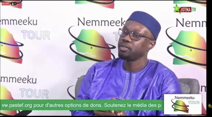 Ousmane Sonko : « nous n'avons pas le temps pour des débats secondaires. Notre objectif demande un autre comportement... »