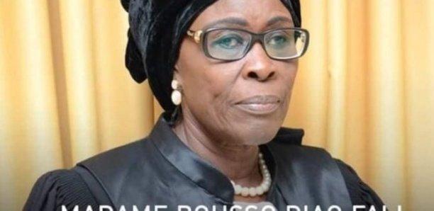 Conseil constitutionnel : Décès de Bousso Diao Fall, la seule femme des sept sages