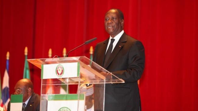 Le Président Ouattara reconduit pour un nouveau mandat à la tete de la CEDEAO