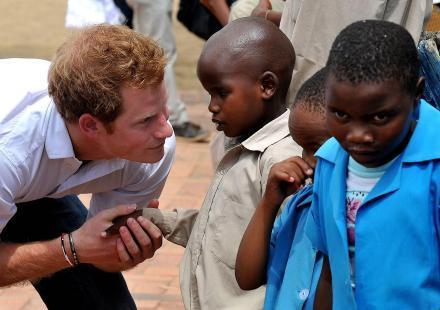 Le prince Harry au Lesotho dans les pas de Lady Diana
